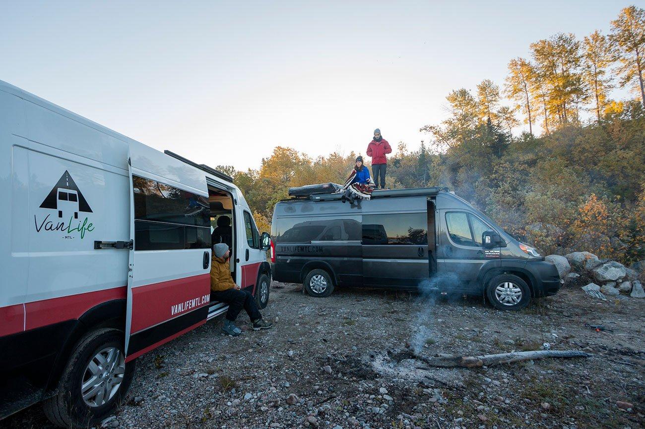 aventure campervan