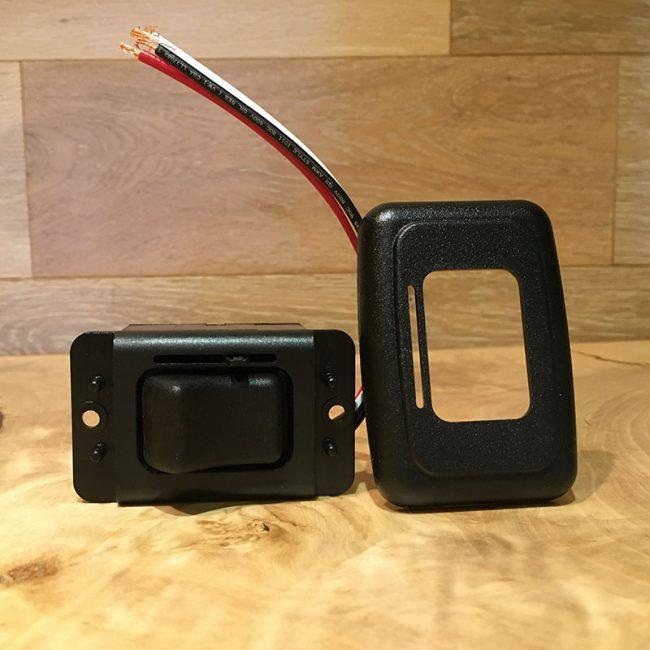 Interrupteur de lumière simple avec variateur pour LED